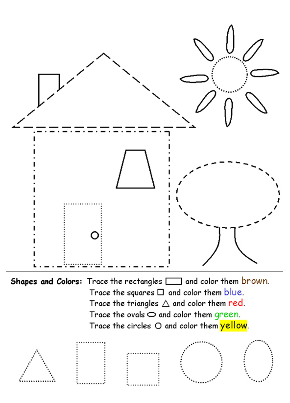 3d shapes worksheets cut out