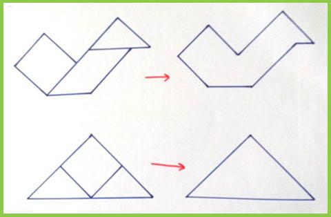 เกมตัวต่อ 7 ชิ้น (tangram)
